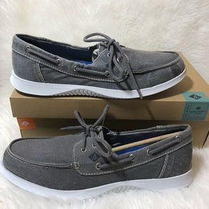 Men's Sperry Size 11 Boat Shoes Canvas